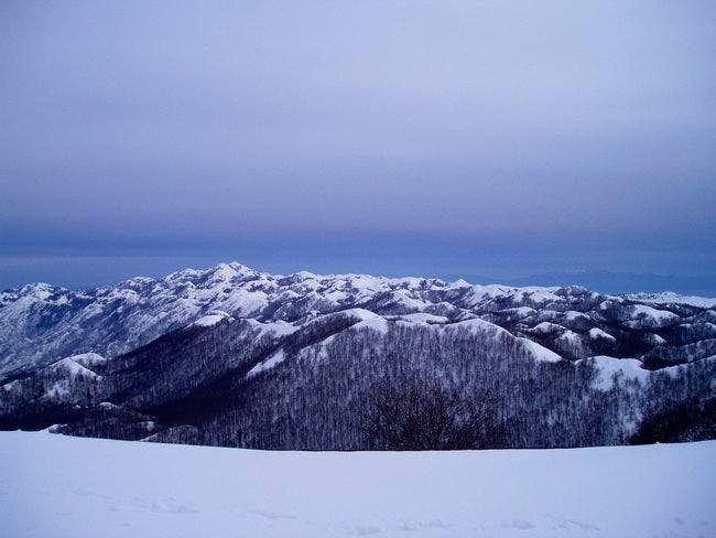 Winter on Biokovo