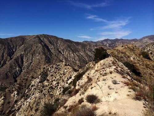 Along the ridge, Contemplation Trail