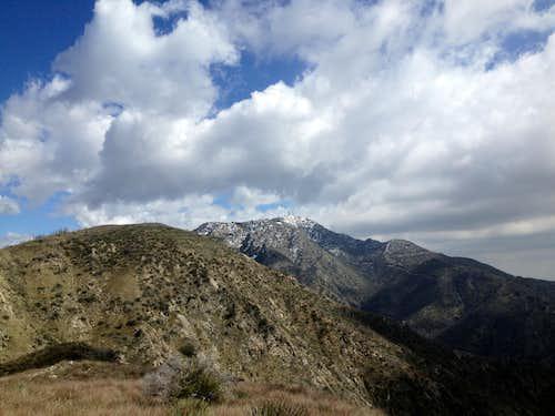 Mt. Lukens, still a ways up/down the ridge..