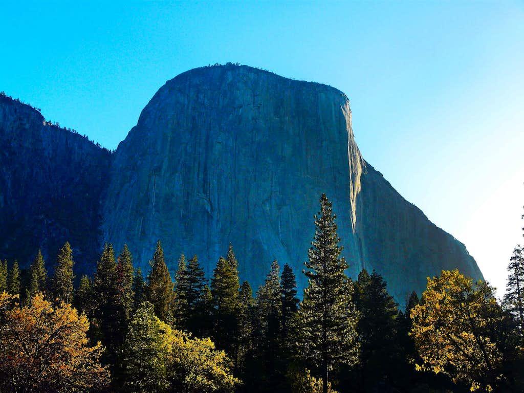 El Cap contemplates the new day