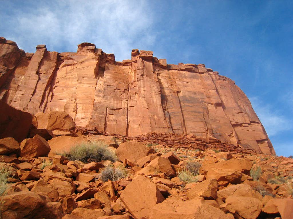 Parriot Mesa east face