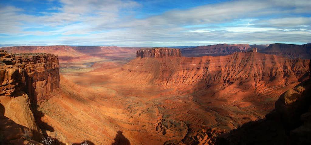 Parriott Mesa view north