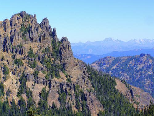NW Peak and Stuart Range