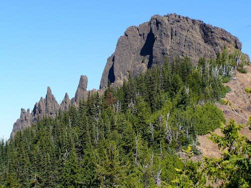 View of West Peak
