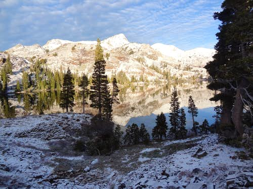 Rain, Hail and Snow in Desolation Wilderness
