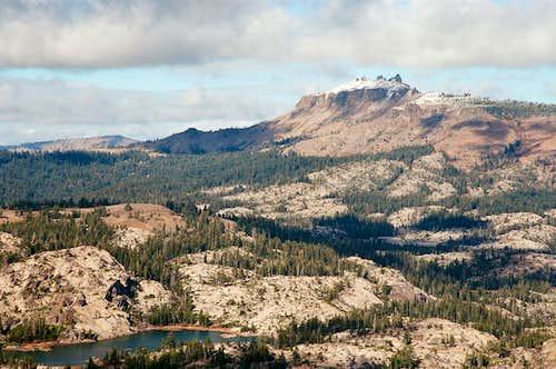 Castle Peak from Donner Peak