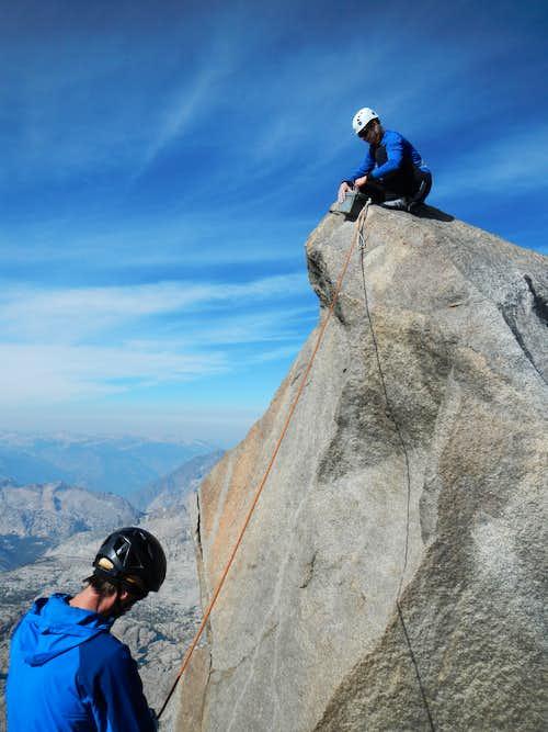 Thunderbolt Peak Summit Block