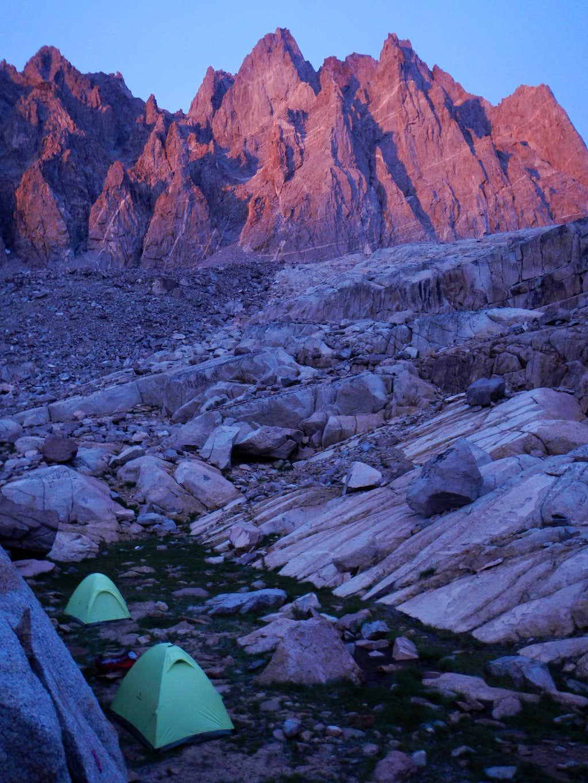 Palisade Basin Camp