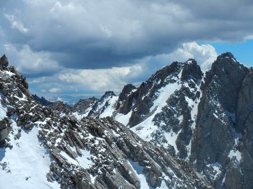 Mt. McAdie & Arc Pass