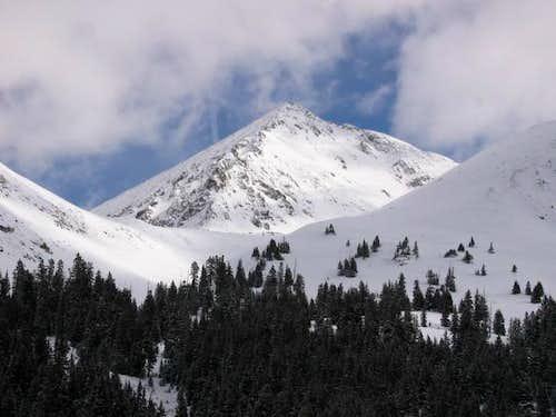 Pacific Peak from Mayflower...