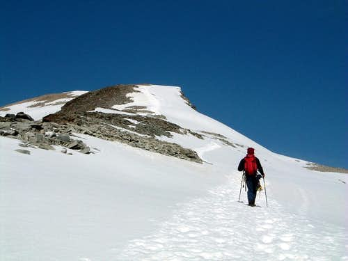 Piz Tschierva summit crest