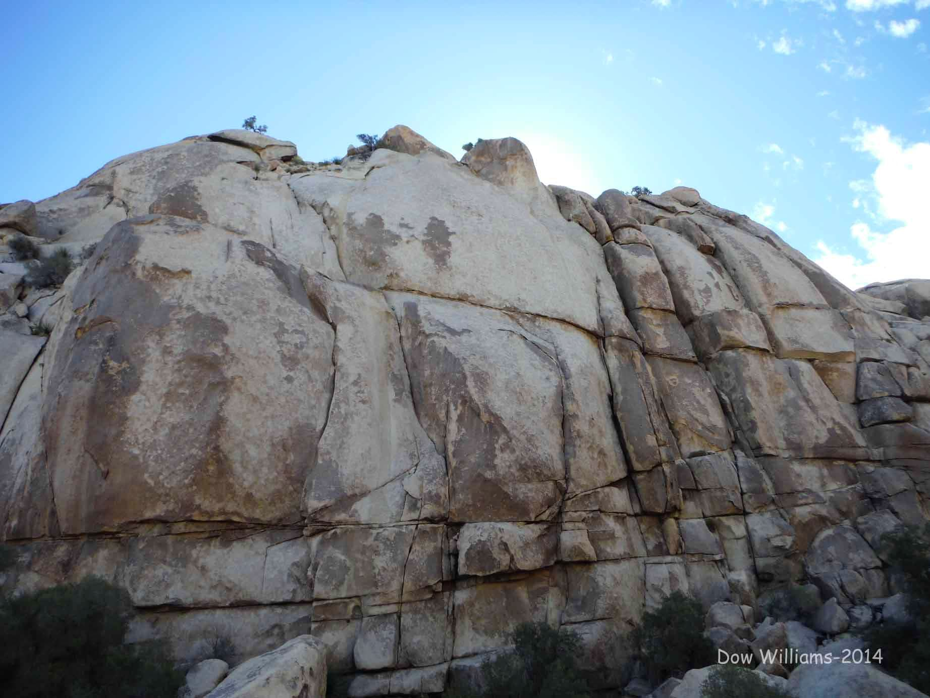Upper Dodge City, 5.9-5.11d