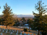 Camp Creek Bald From Andrew Johnson Nat'l Cemetery