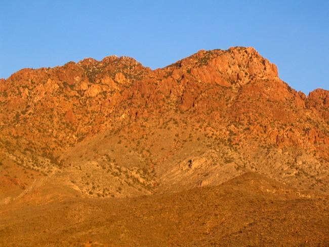 Edgar Peak seen in the...