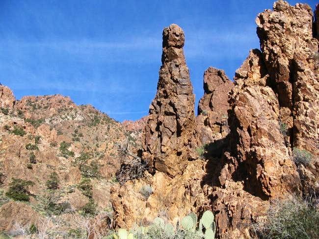 Volcanic Rhyolite rock...