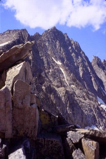 Granite Peak from Bivouac...