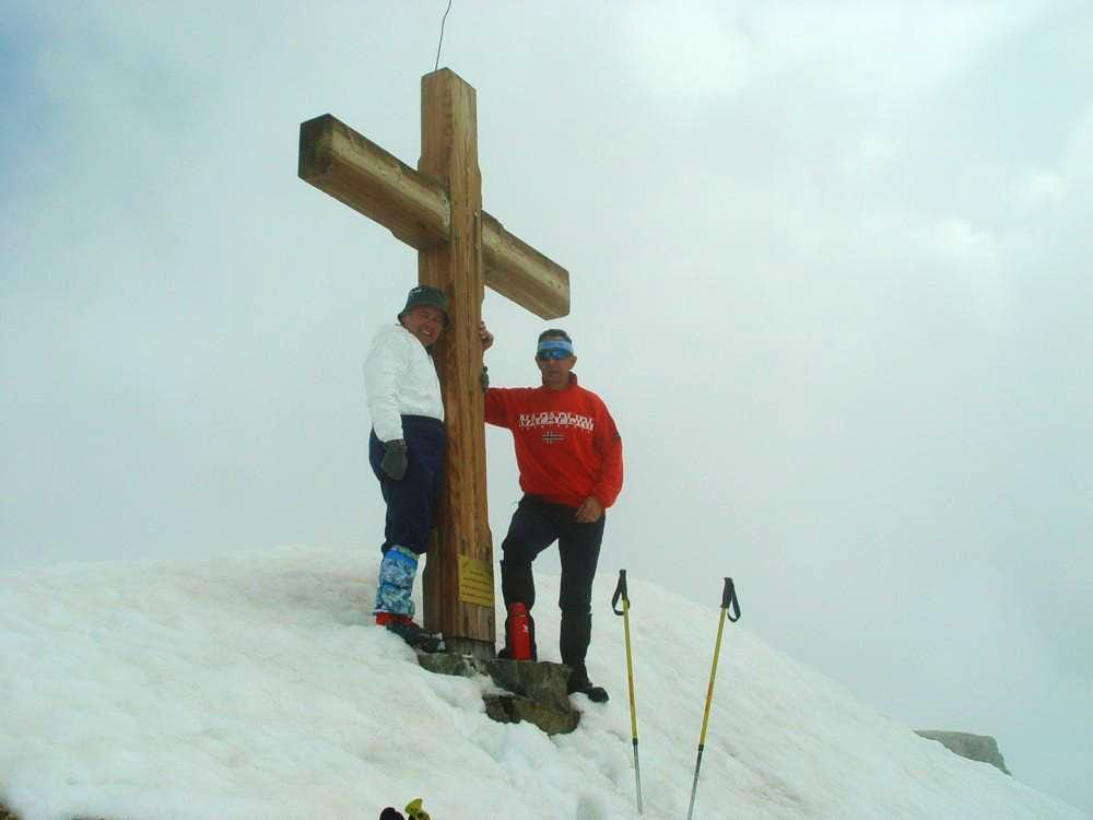 All Routes to Mont Gelè (3519m) Summit Cross 2003