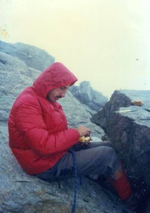 All Routes to Mont Gelè  (3519m) Canned Tuna 1975