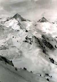 All Frozen ... Traces in Pila Basin from Chamolé 1965