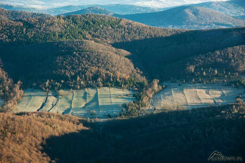 Carynskie valley