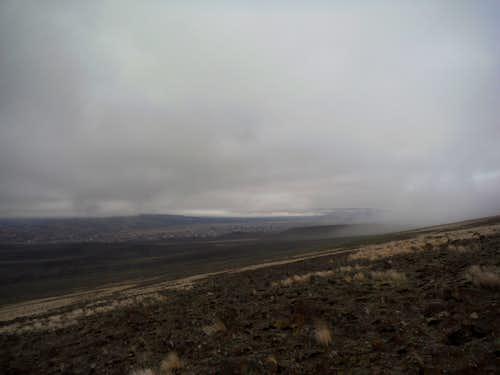 Near the fog line