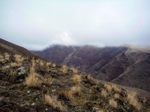 Looking at Selah Butte
