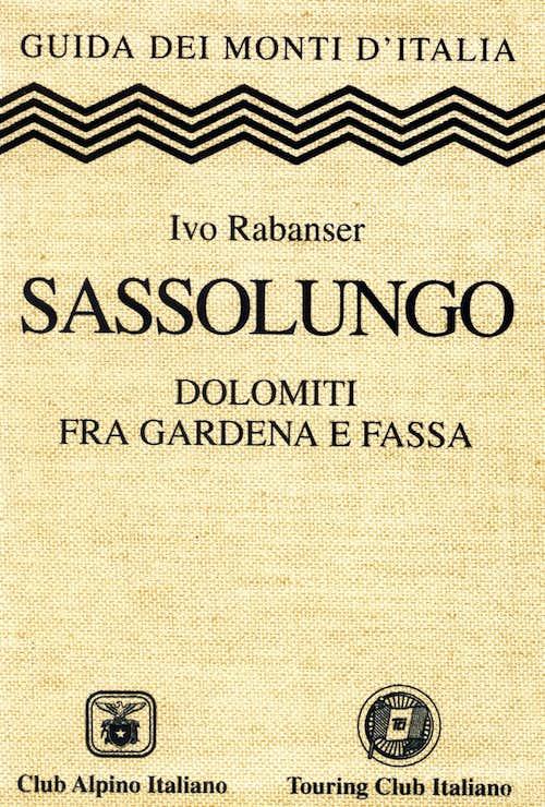 Sassolungo guidebook