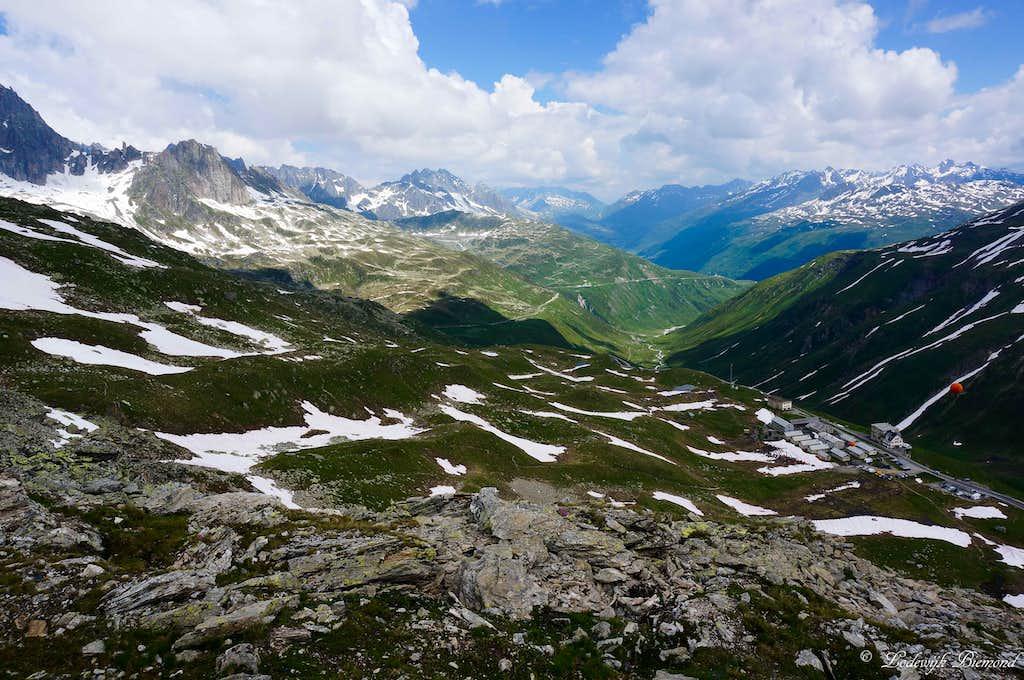View towards Andermatt