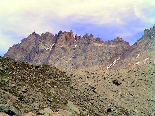 Val Savarenche Herbetet West Face & South Ridge 2001
