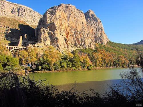 Rock Climbing around El Chorro