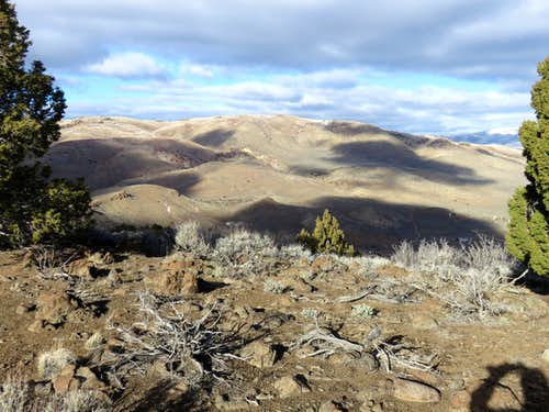 View of Seven Lakes Mountain from Porcupine Mountain