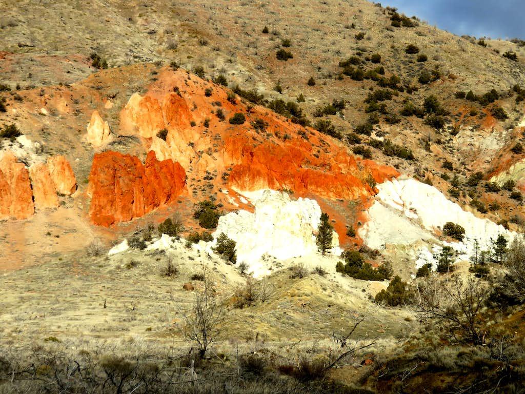 Red Rocks close up