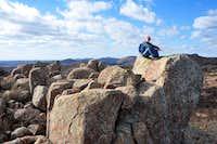 spLandswest on West Parker Peak Summit