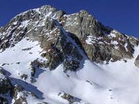 The North Couloir. Notice the...