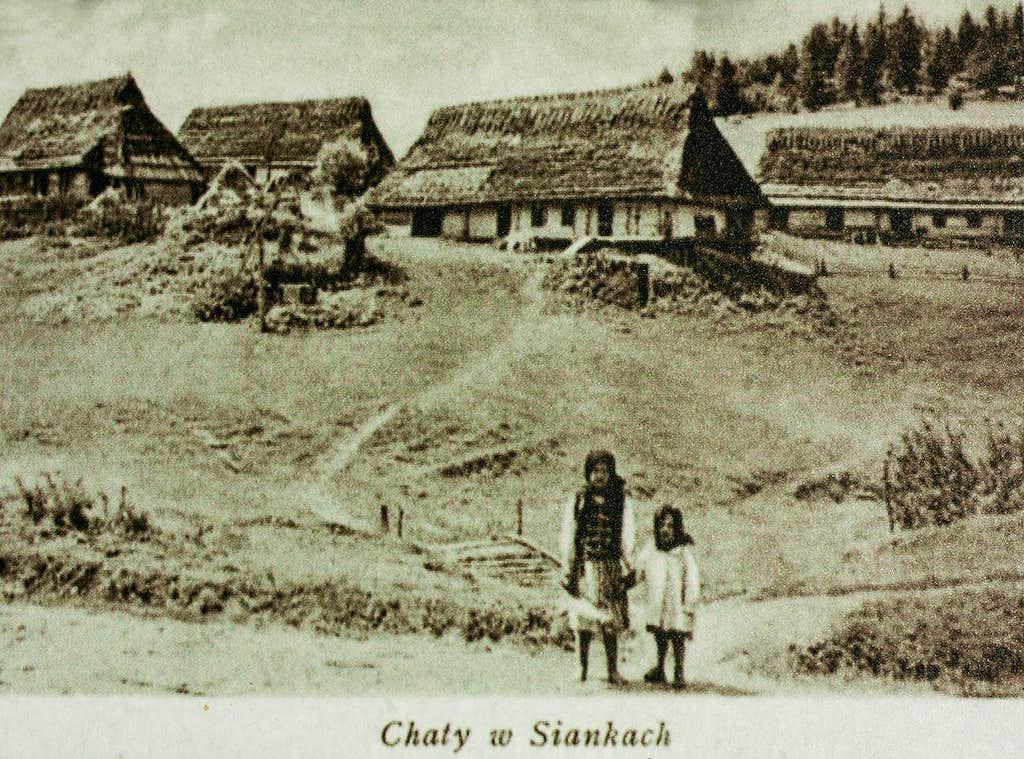 Boyko houses at Sianki, 1939
