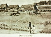 Boyko houses at Sianki, 1939