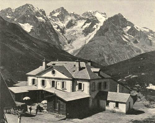 col du Lautaret - La Meije