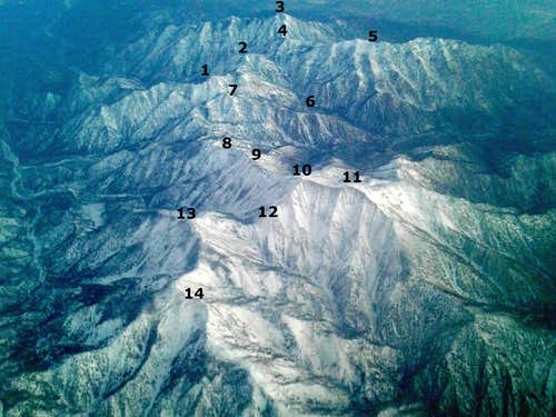 flying over the San Gabriels (12/31/14)