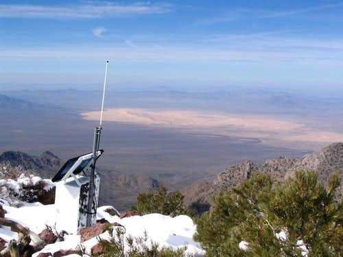 Summit of Edgar Peak and...