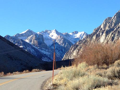 Eastern Sierra Nevada Winter Road Trip