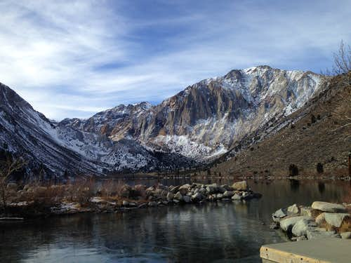 Laurel Mountain from Convict Lake