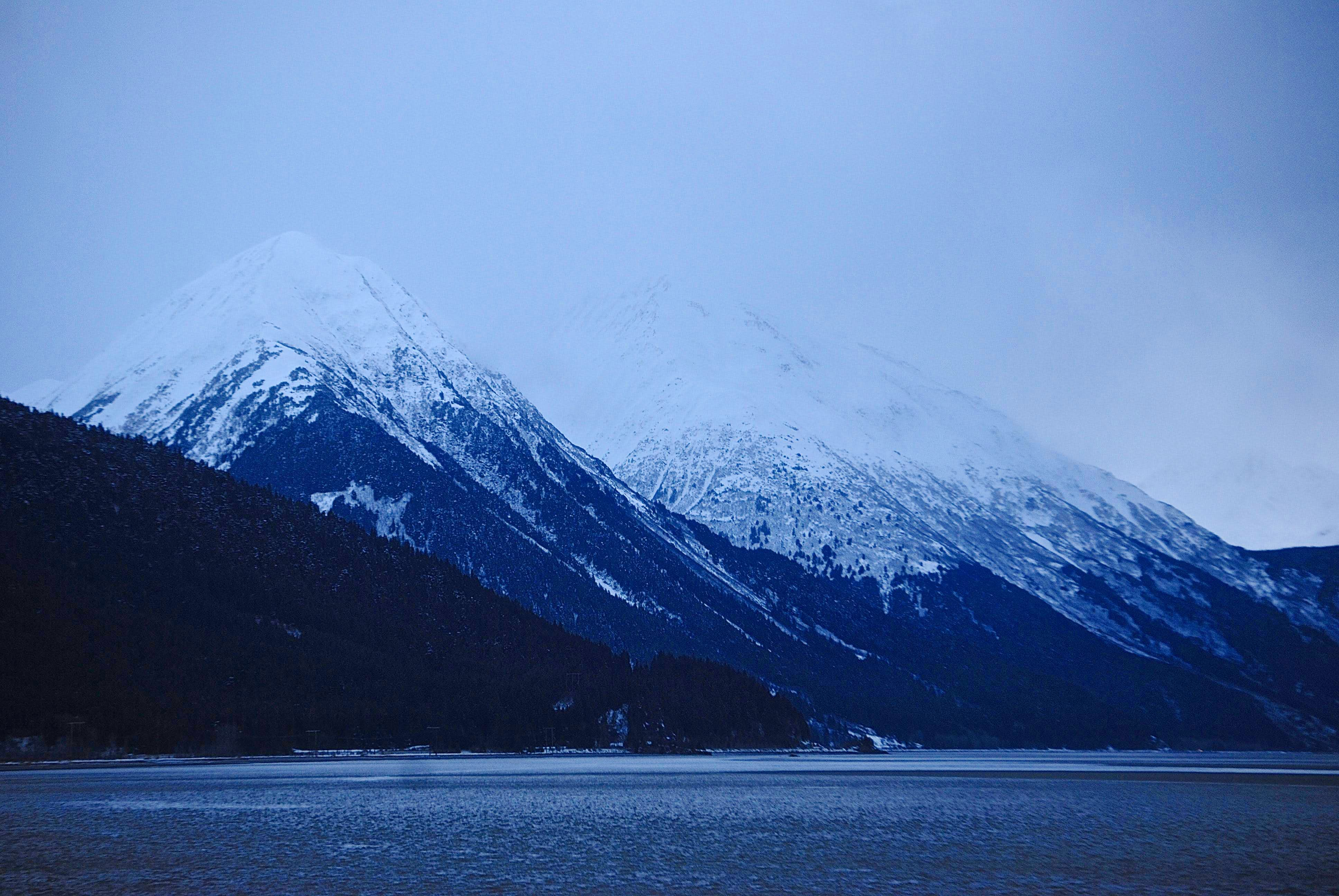 Chugach Mountains, Alaska: December 28th 2014