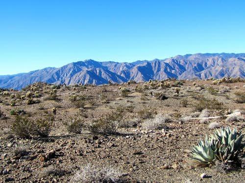 San Ysidro Mountain 6147 ft