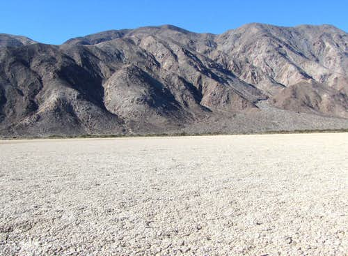 Coyote Mountain 3192 ft from Clark Dry Lake