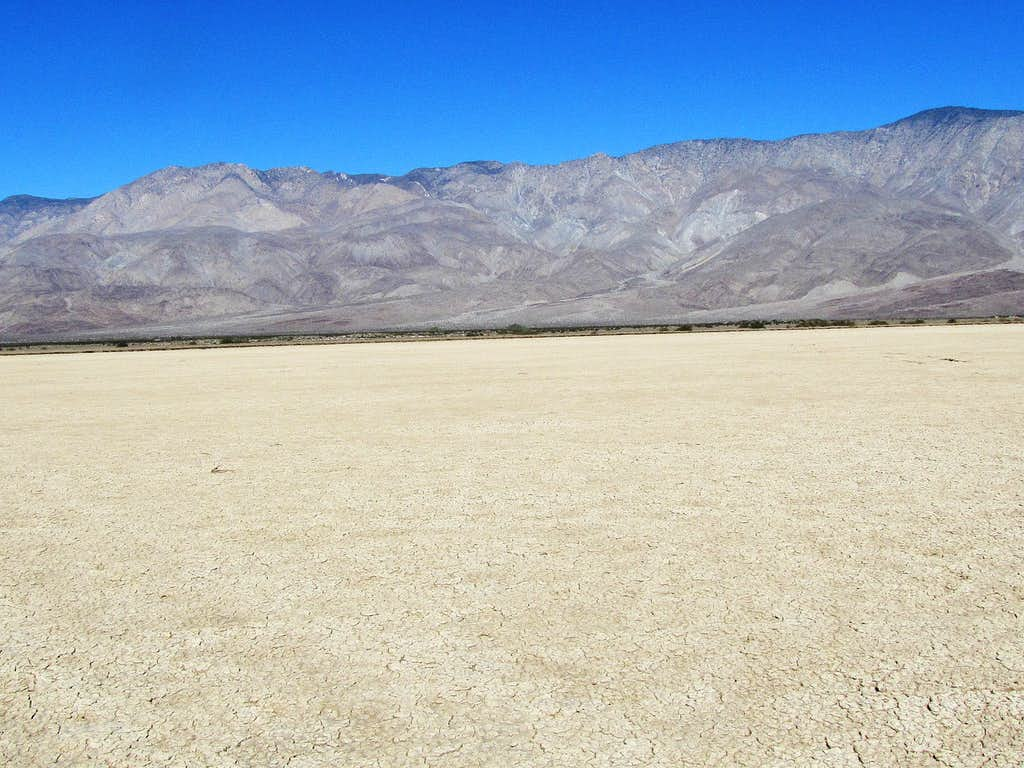 Clark Dry Lake, looking north