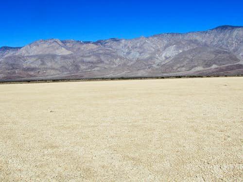 Clark Dry Lake, looking north
