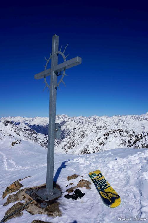 Schwarzkogel Summit Cross