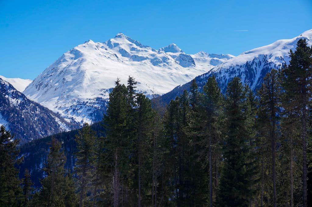 Hinterer Wurmkogel (10112 ft / 3082 m )