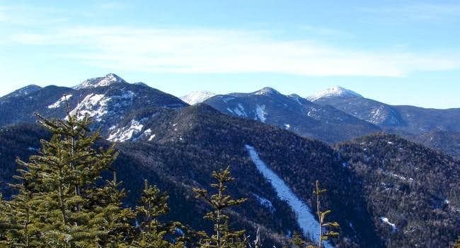 Lower Wolf Jaw Mountain