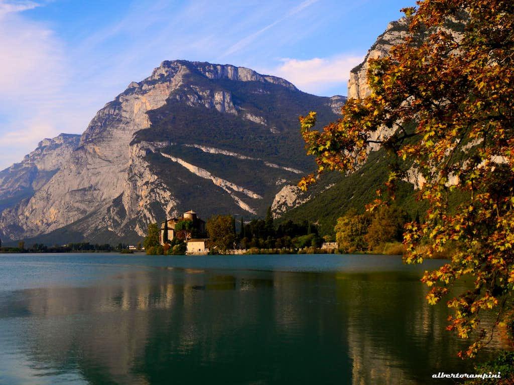 Monte Casale and Toblino Lake